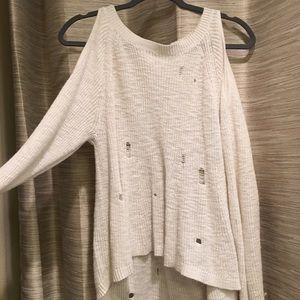 White BP Holy Sweater